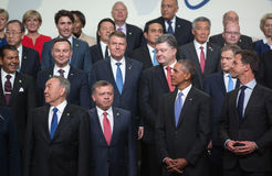 Nuclear Security Summit in Washington, 2016 Stock Photography