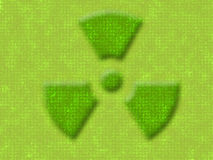 Nuclear sign Stock Photo