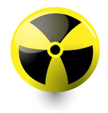 Nuclear sign Royalty Free Stock Image