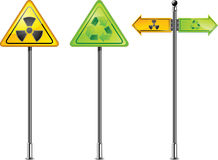 Nuclear sign Royalty Free Stock Photo