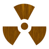Nuclear sign Royalty Free Stock Photos