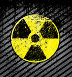 Nuclear sign Royalty Free Stock Photography