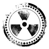 Nuclear sign Stock Photography