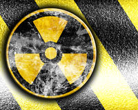 Nuclear sign Stock Images