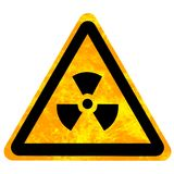 Nuclear sign Stock Photos