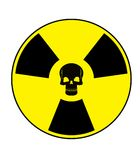 Nuclear Skull Royalty Free Stock Photos