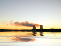 Nuclear station Stock Images