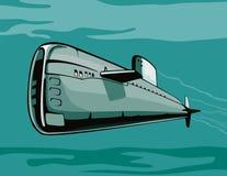 Nuclear submarine Royalty Free Stock Photo