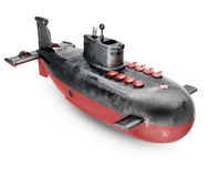 Nuclear submarine Royalty Free Stock Photography