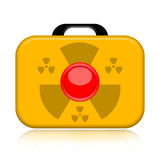 Nuclear suitcase Stock Photos