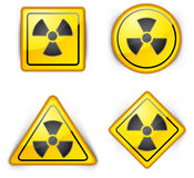 Nuclear symbol Royalty Free Stock Photos
