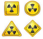 Nuclear symbol vector illustration