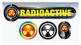 Nuclear symbol Stock Photography