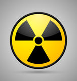 Nuclear symbol Royalty Free Stock Image