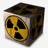 Nuclear symbol Stock Image