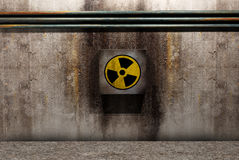 Nuclear symbol Stock Photos