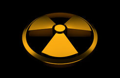 Nuclear symbol Royalty Free Stock Photography