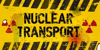 Nuclear transport Royalty Free Stock Photos