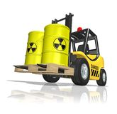 Nuclear waste Royalty Free Stock Photo