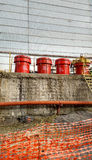 Nuclear waste at the Chernobyl nuclear power plant Royalty Free Stock Photography