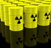 The nuclear waste Stock Images