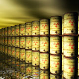 Nuclear Waste Stock Image