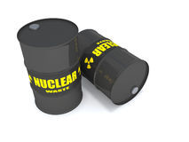 Nuclear Waste Royalty Free Stock Images