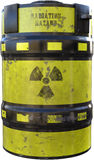 Nuclear Waste Radioactive Material Isolated Stock Images