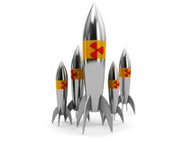 Nuclear weapons Royalty Free Stock Images