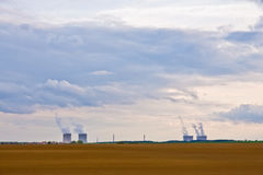Nucleare Fotografia Stock Libera da Diritti