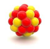 Nucleo atomico Immagini Stock