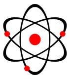 Nucleo di atomo illustrazione vettoriale