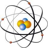 Nucleo di atomo Fotografia Stock
