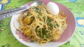 Nuddle tailandés Imagenes de archivo