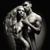 nude αισθησιακός ζευγών Στοκ εικόνα με δικαίωμα ελεύθερης χρήσης