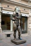 Nude γυναίκα χαλκού Στοκ Εικόνες