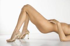 nude γυναίκα Στοκ Φωτογραφία