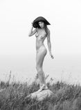 nude νεολαίες γυναικών Στοκ φωτογραφίες με δικαίωμα ελεύθερης χρήσης