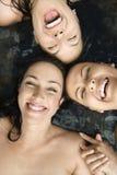 nude τρεις γυναίκες Στοκ εικόνα με δικαίωμα ελεύθερης χρήσης