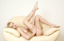 nude χαλαρώστε τις γυναίκες Στοκ Εικόνες
