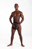 Nude african american man Stock Photography