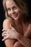 Nude Blonde Woman Royalty Free Stock Photography