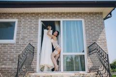 Nude bride Royalty Free Stock Photos