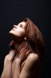 Nude en la luz Foto de archivo libre de regalías