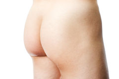 Nude male buttocks Royalty Free Stock Photos
