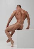 Nude male model Stock Image