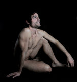 Nude man Royalty Free Stock Images