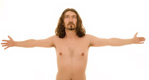 Nude man Royalty Free Stock Photo