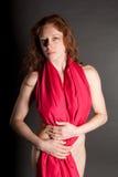 nude redhead Στοκ Φωτογραφίες
