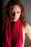 nude redhead Στοκ Φωτογραφία